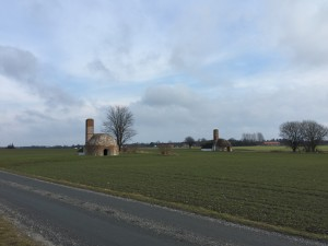 Renoverade kalkugnar nära Smygehamn