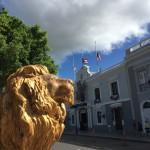 Ponce, döpt efter Ponce de Leon. Alltså - lejon överallt!
