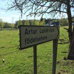 Artur Lindkvist föddes i Hagstad.